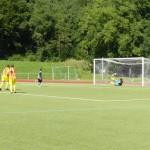Das 1:0 für Kaan per Elfmeter durch Mats-Lukas Scheld