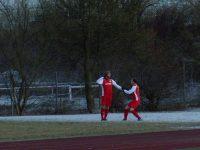 :   Der Torschütze Dennis Noll als Gewinner des Spiels