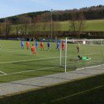 Elfer zum 1:0 für Kaan  durch Mats-Lukas Scheld (18.Min)