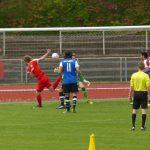 Der Siegtreffer zum 1:0 für Kaan durch Kopfball Dennis Noll (84.)