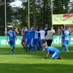 Das Spiel ist aus: Westfalia Rhynern steigt als Tabellenzweiter der Oberliga in die Regionalliga West auf!