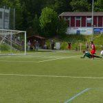 """Das 2:0 für Kaan durch """"Ballermann"""" Dawid Krieger"""