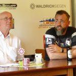 PK mit Trainer und 2. Vorsitzenden W. Leipold