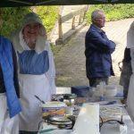 Die netten Damen vom H.u.V. Trupbach mit den Süßen Waffeln (lecker)