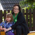 """Auch Oma Renate mit Enkelin auf großer Fahrt."""""""