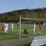 """Marius Jung erzielt das 1:0"" (48.Min.)"