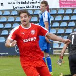 """""""Dawid Krieger trifft zum 1:0 Siegtreffer"""" (77.)"""