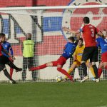 Jannik Schneider erzielt den Ausgleich zum 1:1